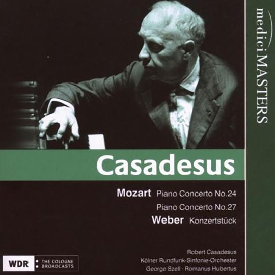 Robert Casadesus spielt. CD.