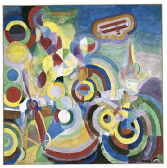 Robert Delaunay. Hommage à Blériot.