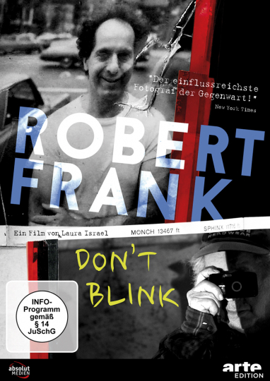 Robert Frank. Don't Blink. DVD.