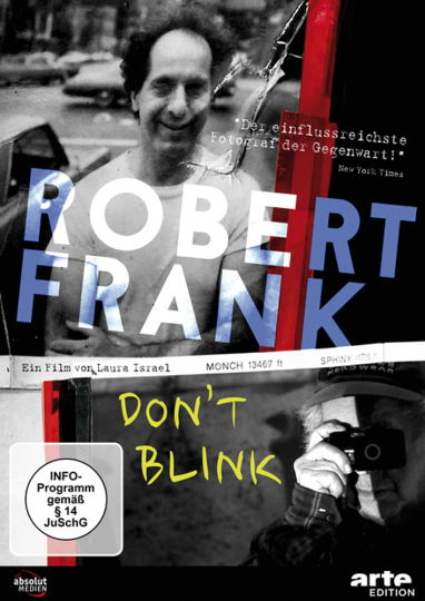 Robert Frank. Don't Blink. DVD.