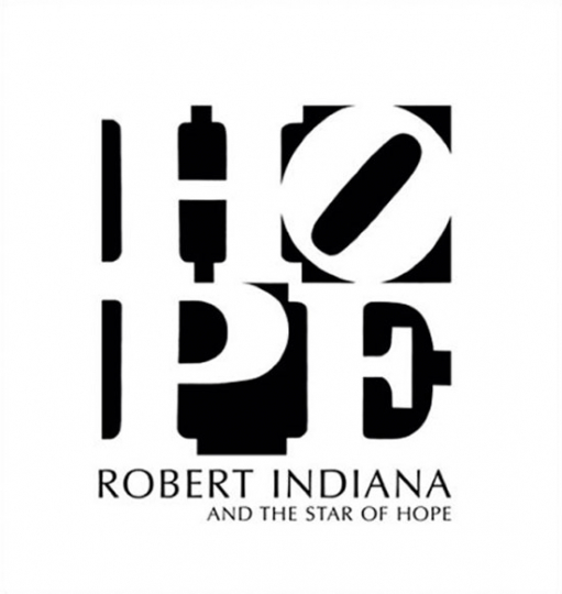 Robert Indiana and the Star of Hope.