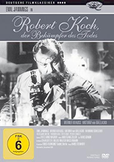 Robert Koch. Bekämpfer des Todes. DVD.