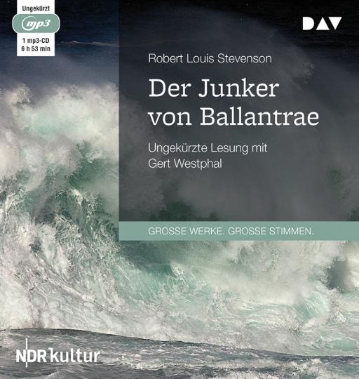 Robert L. Stevenson. Der Junker von Ballantrae. mp3-CD.