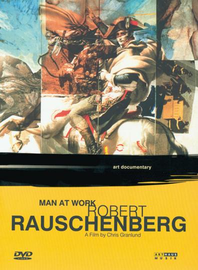 Robert Rauschenberg. Man at work