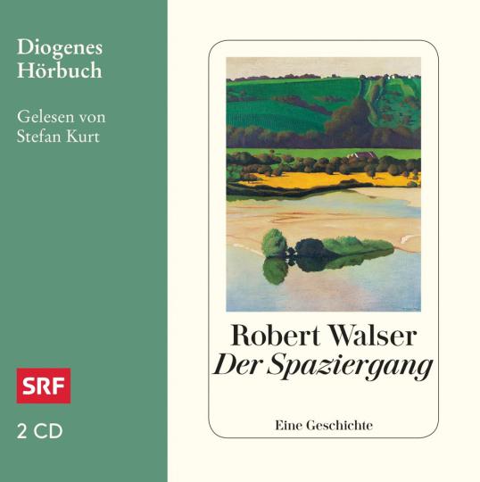 Robert Walser. Der Spaziergang. Eine Geschichte. 2 CDs.