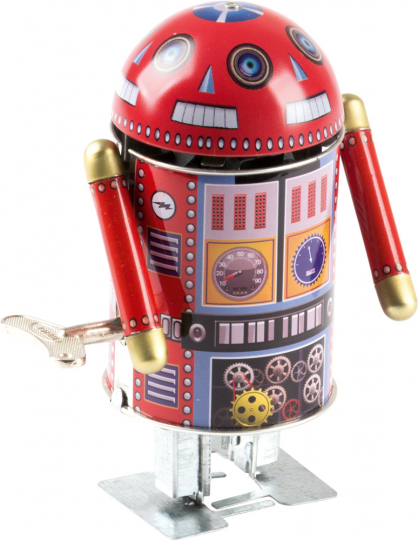 Roboter »Robo Cop«, orange.