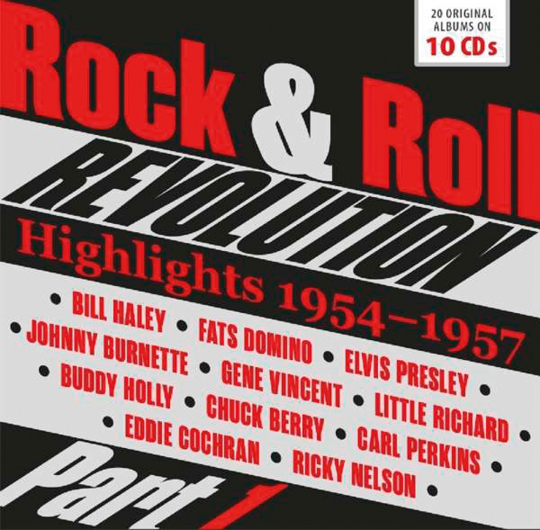 Rock & Roll Revolution. 10 CDs.