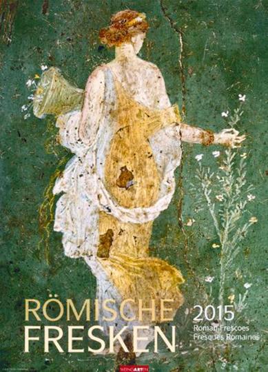 Römische Fresken 2015 Wandkalender
