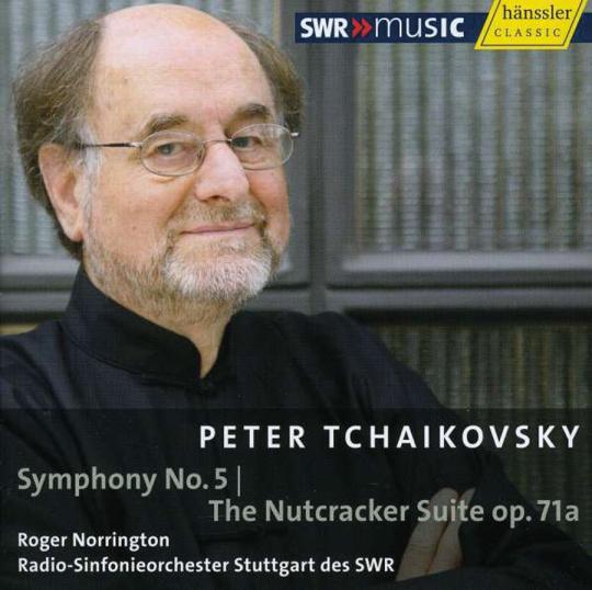 Roger Norrington. Sinfonie 5 / Nussknacker-Suite. CD.