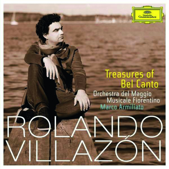 Rolando Villazon. Treasures of Bel Canto. CD.