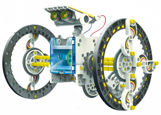 Roll-E 14 in 1 Solar-Roboter