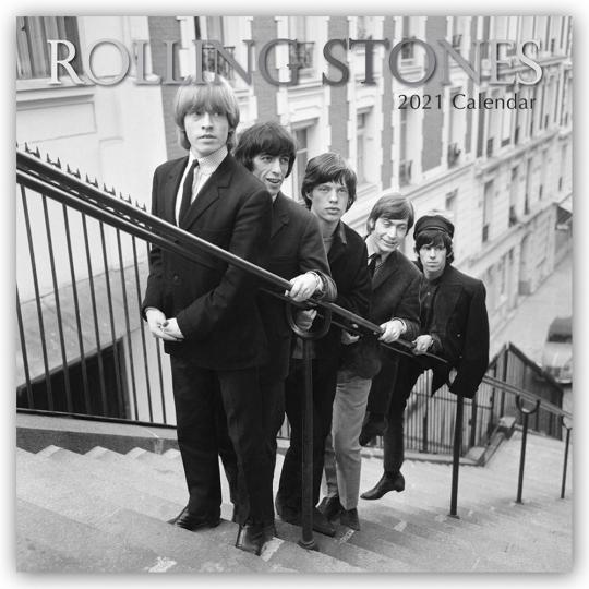 Rolling Stones. Wandkalender 2021.