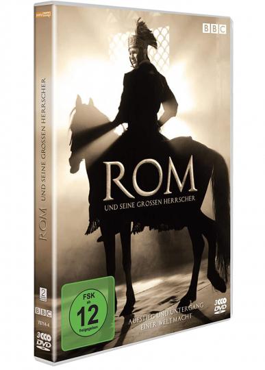 Rom und seine großen Herrscher. 3 DVDs.