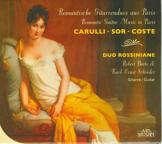 Romantische Gitarrenduos aus Paris CD