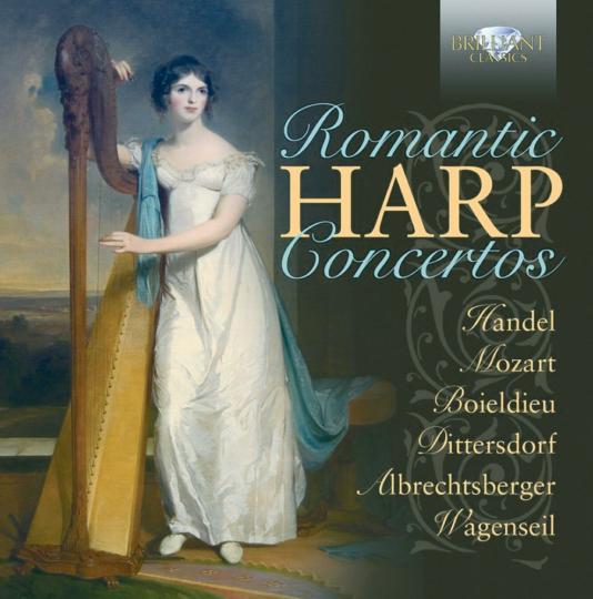 Romantische Harfenkonzerte 2 CDs