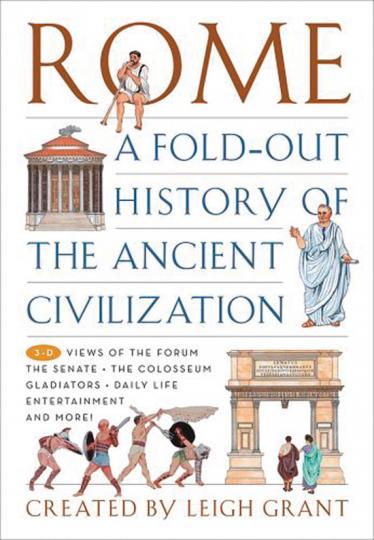 Rom. Geschichte der antiken Zivilisation. Aufklappbuch.