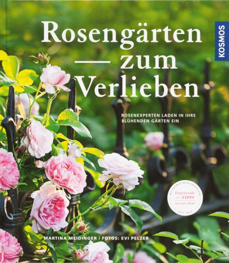 Rosengärten zum Verlieben. Rosenexperten laden in ihre blühenden Gärten ein.