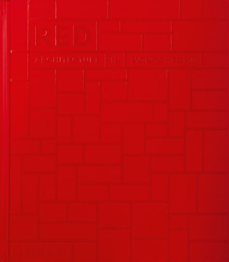 Rot. Monochrome Architektur. Red. Architecture in Monochrome.