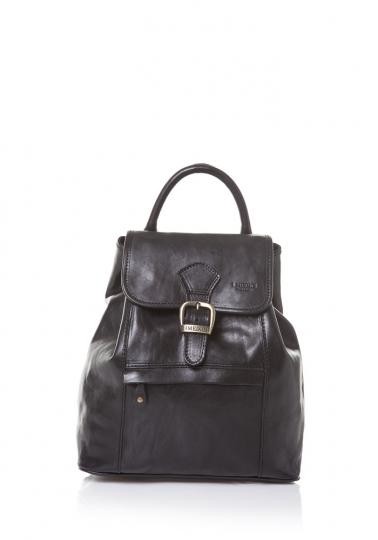 Rucksack, schwarz.