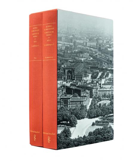 Rudolf Borchardt. Weltpuff Berlin. Sämtliche Werke Band XIV (in zwei Teilbänden), Erzählungen 2.