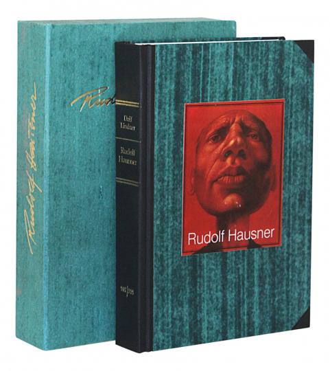 Rudolf Hausner. Werkverzeichnis. Vorzugsausgabe mit Originalgrafik.