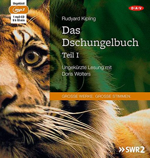 Rudyard Kipling. Das Dschungelbuch Teil I. Hörbuch. 1 CD.