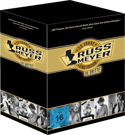 Russ Meyer. 50 Jahre Kino Edition, die Dritte (Limitierte Edition mit kultigem Postkartenset). 5 DVDs.