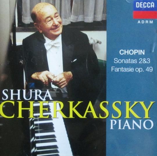 S.Cherkassky/Chopin Sonatas,Fantasie /Geschenk