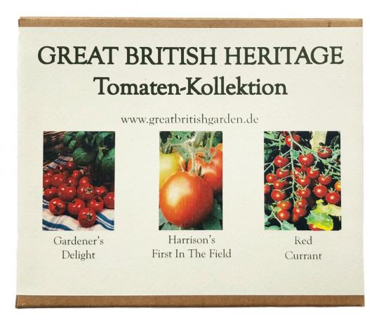 Saatgut-Box Tomaten Kollektion Nr. 4.