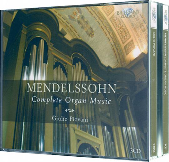 Sämtliche Orgelwerke 3 CDs