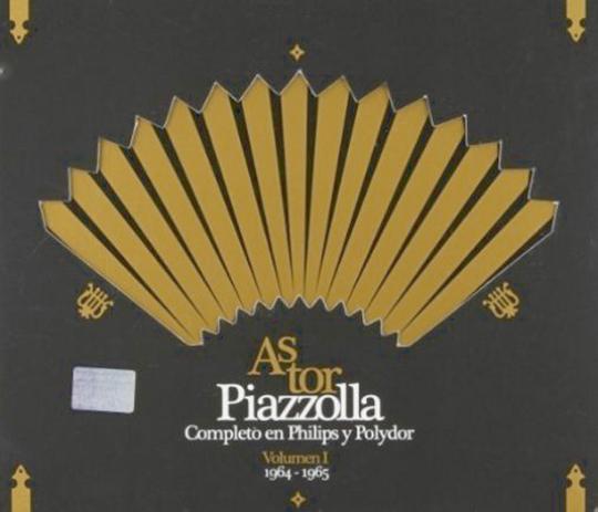 Piazolla - Sämtliche Philips Aufnahmen. 2 CDs.