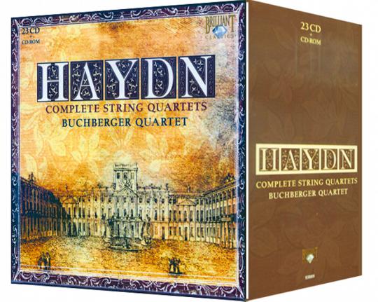 Sämtliche Streichquartette 23 CDs & CD-ROM