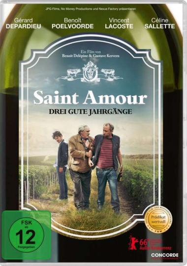 Saint Amour. Drei gute Jahrgänge. DVD.