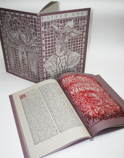 Salome. Originalgraphisches Künstlerbuch mit Texten von Oscar Wilde, Flavius Josephus und aus dem Neuen Testament. Limitierte Auflage von 25 + 5 Exemplaren.