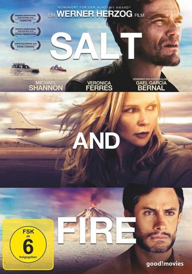 Salt and Fire. DVD.