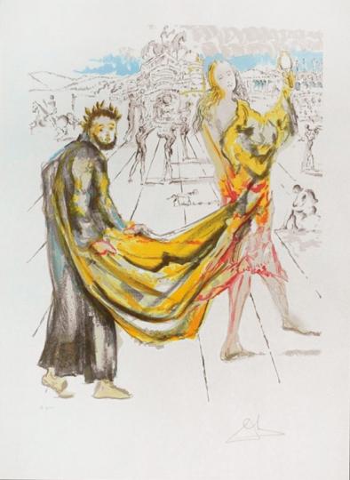 Salvador Dalí Les Amoureux. The Kingdom (Das Königreich)