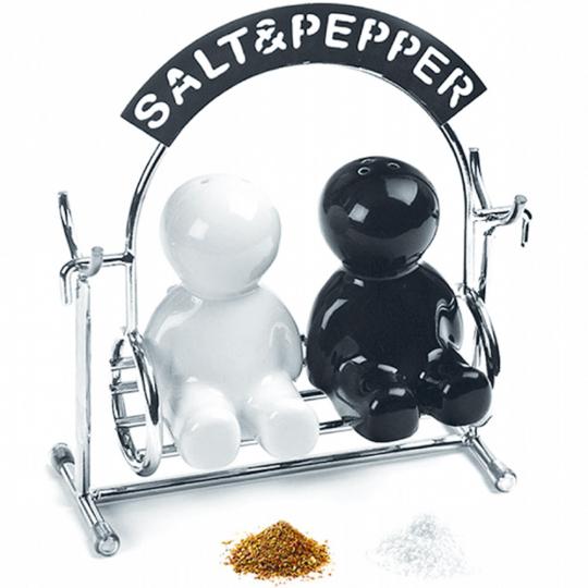 Salz- und Pfefferstreuer »Hollywoodschaukel«.