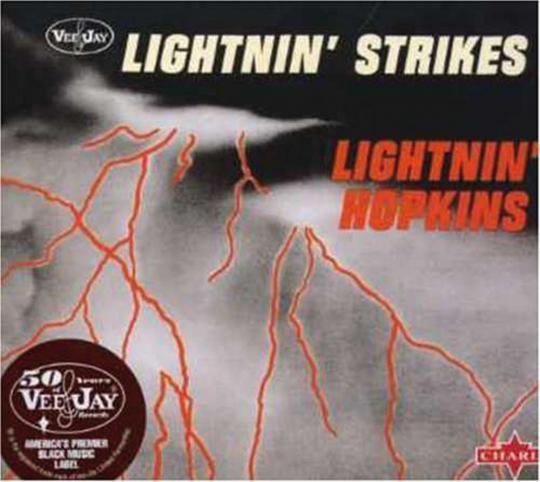 Sam Lightnin' Hopkins. Lightning Strikes. CD.