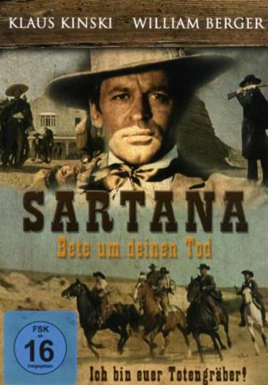 Sartana - Bete um Deinen Tod. DVD.