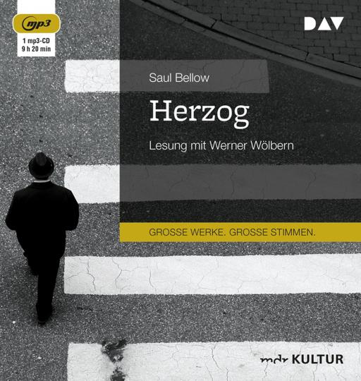 Saul Bellow. Herzog. mp3-CD.