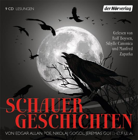 Schauergeschichten. Hörbuch. 9 CDs.