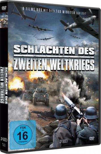 Schlachten des Zweiten Weltkriegs. 3 DVDs.