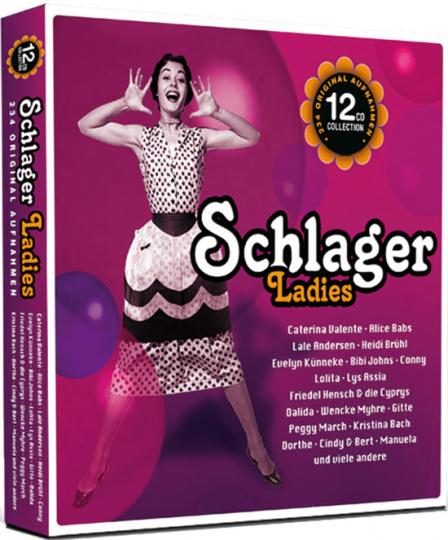 Schlager Ladies. 12 CDs.