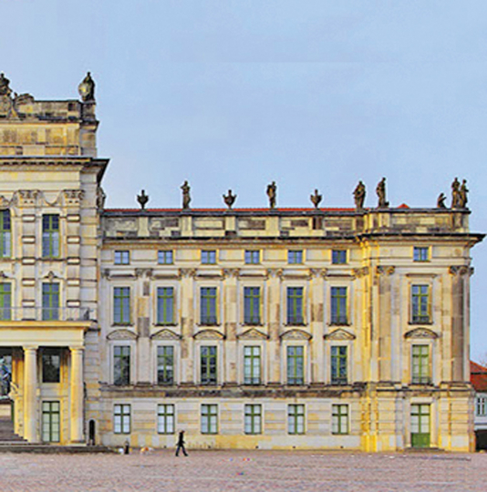 Schloss Ludwigslust.