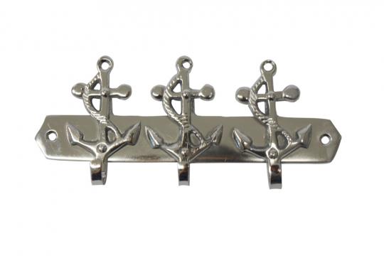 Schlüsselhaken mit 3 Ankern.