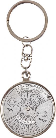 Schlüsselring mit 50-jährigem Kalender.