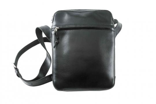 Schmale Umhängetasche »Cinturon«, schwarz.