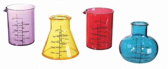 Schnapsgläser »Chemistry«.