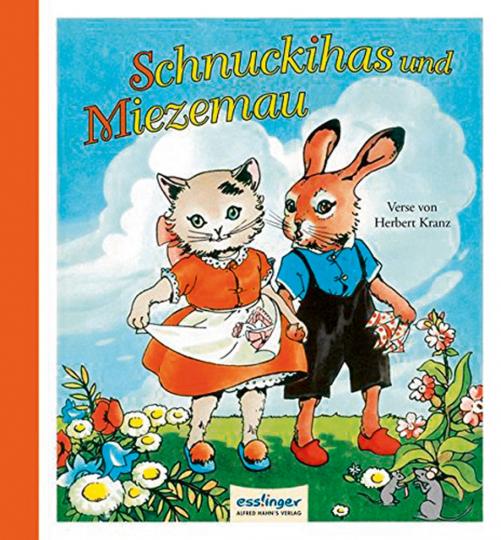 Schnuckihas und Miezemau. Eine lustige Geschichte vom Häschen und Kätzchen. Reprint.