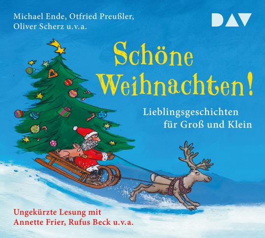 Schöne Weihnachten! Lieblingsgeschichten für Groß und Klein. 3 CDs.